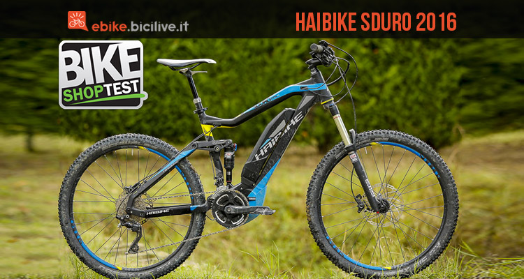 test haibike sduro allmtn rc mtb elettrica biammortizzata. Black Bedroom Furniture Sets. Home Design Ideas