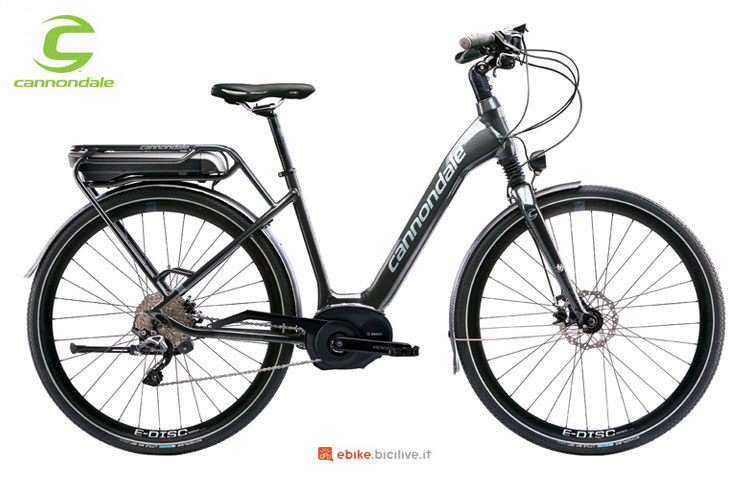 La bicicletta elettrica Mavaro Performance 1 City della Cannondale