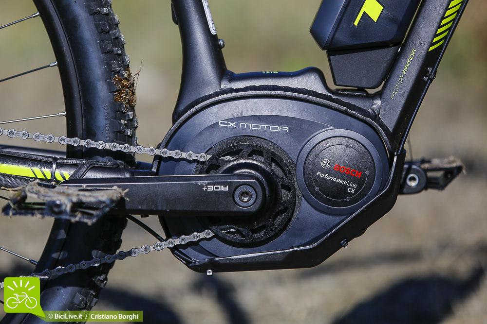 foto del motore elettrico Bosch Performance CX