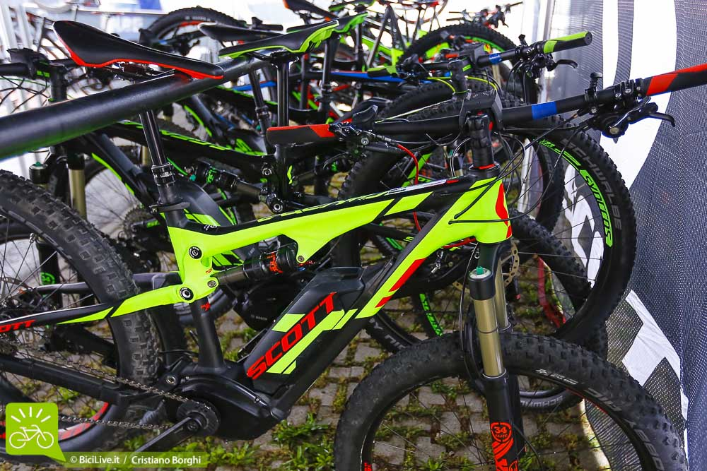 Scott mountain bike elettrica