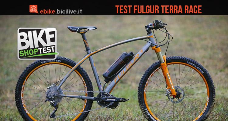 test-mtb-elettrica-fulgur-terra-race-mountain-bike