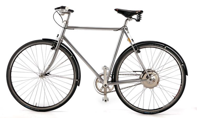 La bici Grande della Vrum, equipaggiata con il kit elettrico all-in-one Zehus Bike+