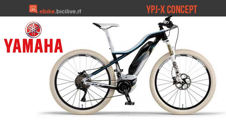 Una foto per la bici elettrica Yamaha YPJ-X Concept