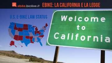 la regolamentazione delle bici elettriche in california