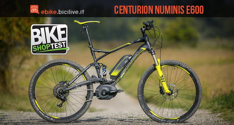 foto della bici elettrica centurion numinis e 600