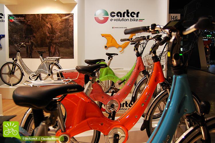 foto della carter, bici elettrica italiana