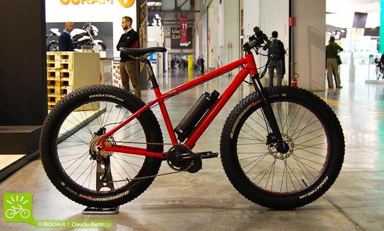foto della klaxon nelson fat bike elettrica