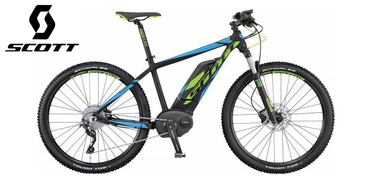 Mountain bike elettrica Scott modello E-Aspect 720 anno 2016.