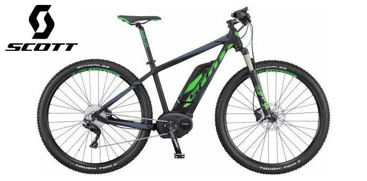 Mountain bike elettrica Scott modello E-Aspect 910 anno 2016.