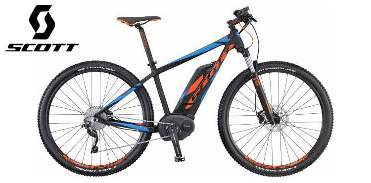 Mountain bike elettrica Scott modello E-Aspect 920 anno 2016.