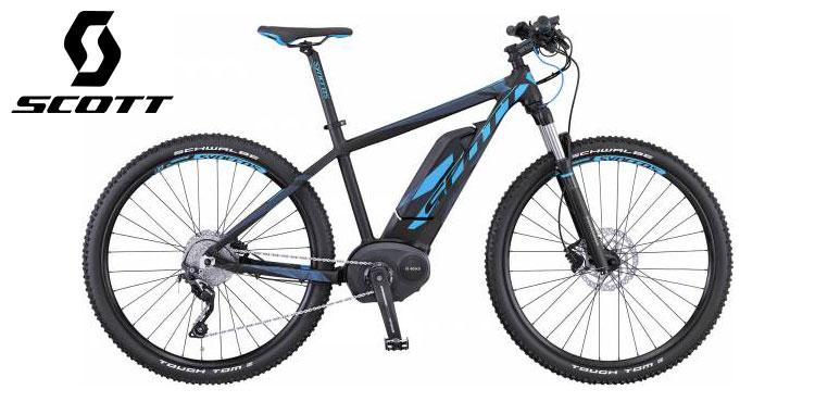 Mountain bike elettrica Scott modello E-Contessa 720 anno 2016.