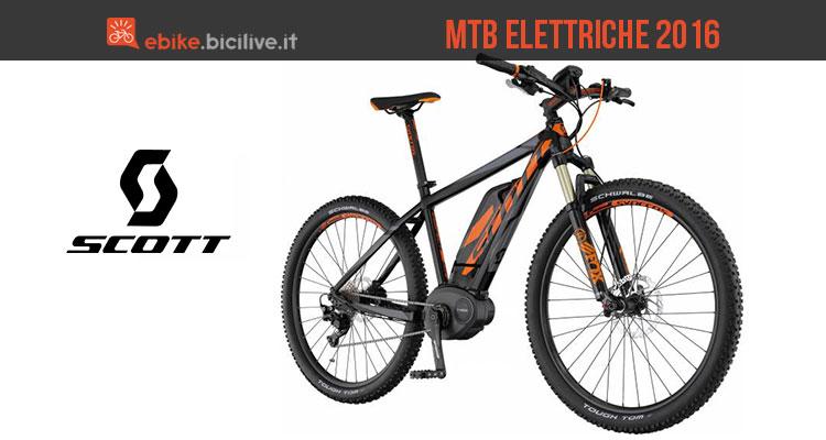 Cinque Mountain Bike Elettriche Scott Per Il 2016
