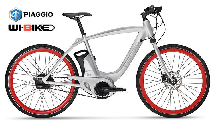 La bici elettrica Piaggio Wi-Bike modello Active Plus