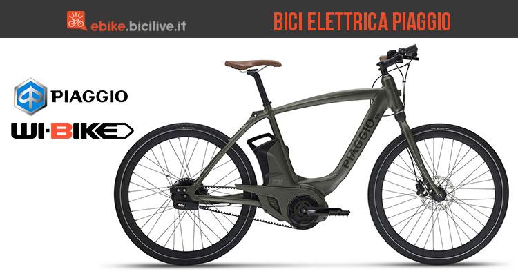 La bici elettrica Piaggio Wi-Bike