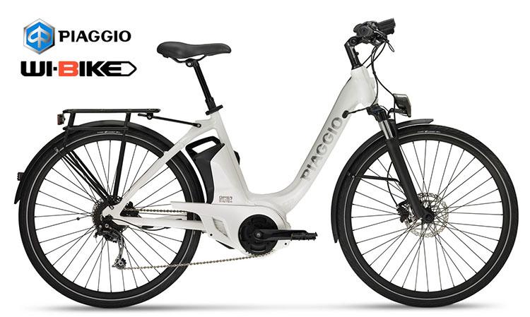 La versione Comfort della bici elettrica Piaggio Wi-Bike