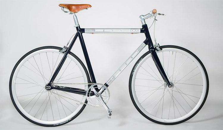 La bici Taddeo di Andrea Colussi, dal telaio smontabile