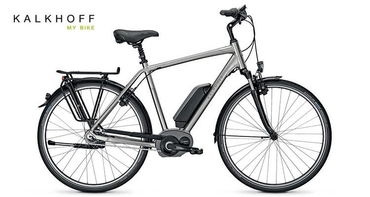 Una bici elettrica Agattu Kalkhoff B8 HS