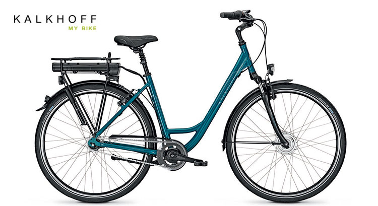 Una bici elettrica Groove della Kalkhoff
