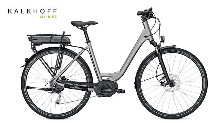 Una bicicletta elettrica Kalkhoff Pro Connect B9