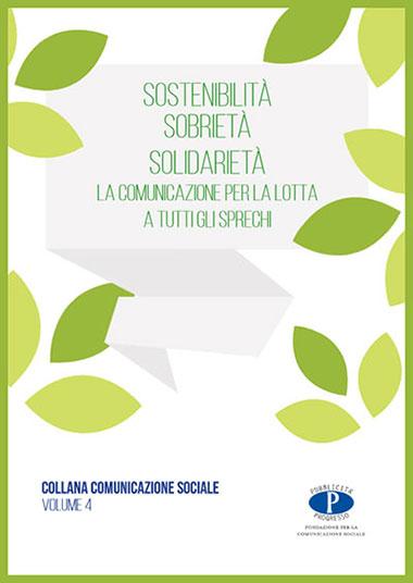 La copertina dell'ebook gratis Sostenibilità Sobrietà Solidarietà