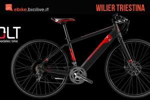 La mountain bike elettrica Wilier Triestina Volt