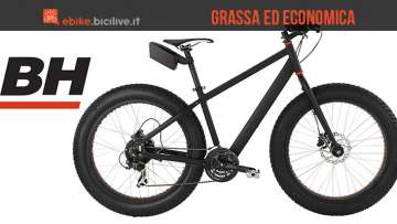 La fat bike elettrica Easygo Big Foot di BH