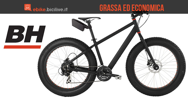 La fat bike elettrica Easygo Big Foot di BH