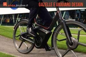 La bicicletta elettrica di Gazelle e Giugiaro Design