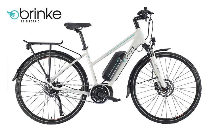 La bicicletta elettrica da trekking Brinke Rushmore '16 White
