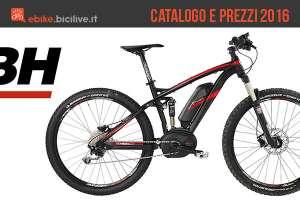 Catalogo e listino prezzi 2016 bici elettriche BH