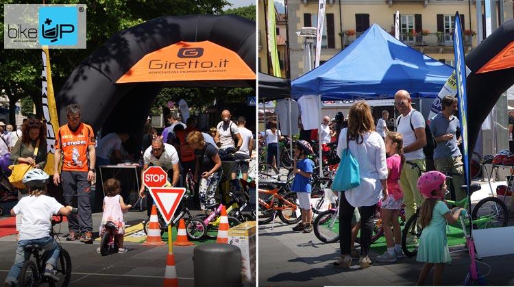 BikeUp è rivolta ai bambini e alle famiglie amanti delle due ruote