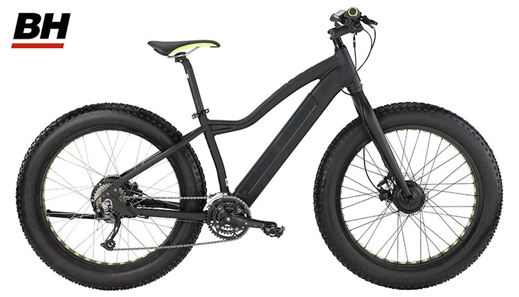 Una BH Evo Awd Big Foot Pro, mtb fat a pedalata assistita