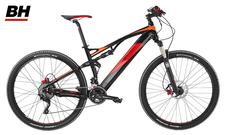 Una mountain bike elettrica a pedalata assistita BH Evo Jumper 29″ Pro