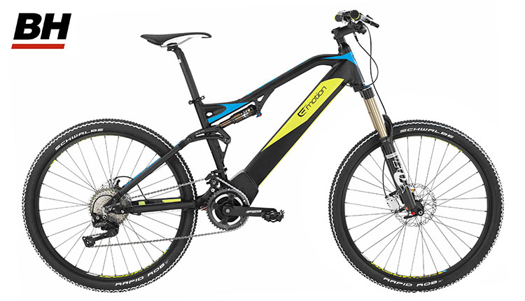 Una mountain bike elettrica BH Revo Escape 27,5″