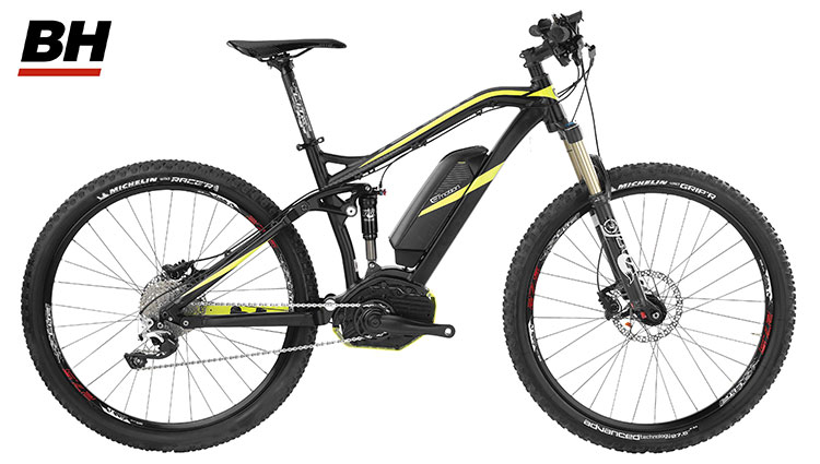 Una mountain bike elettrica BH Xenion Jumper 27,5″ Pro