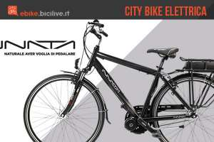La city bike elettrica Innata 511