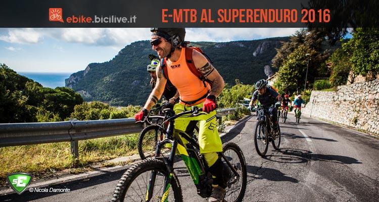 Dal 2016 al Superenduro ci saranno le e-mtb