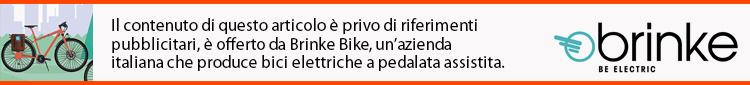 Il contenuto di questo articolo sul turismo in ebike è privo di riferimenti pubblicitari, è offerto da Brinke Bike, un'azienda italiana che produce bici elettriche a pedalata assistita.