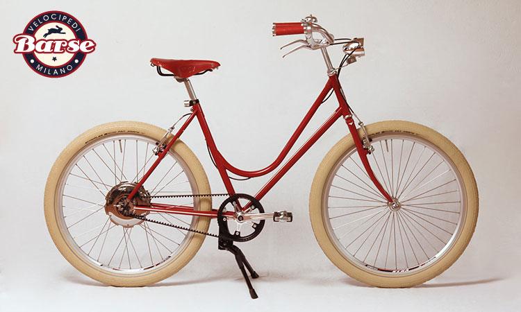 L'ebike per uso urbano La Nanà dell'azienda milanese Barse