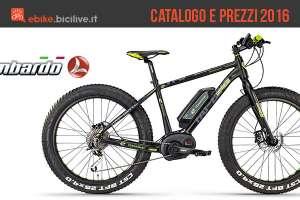 Bici elettriche a pedalata assistita Lombardo: catalogo e listino prezzi 2016