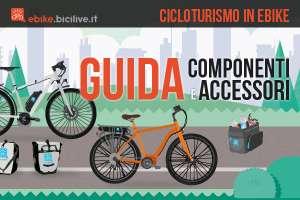 Guida alla scelta della ebike e degli accessori per il cicloturismo con biciclette a pedalata assistita