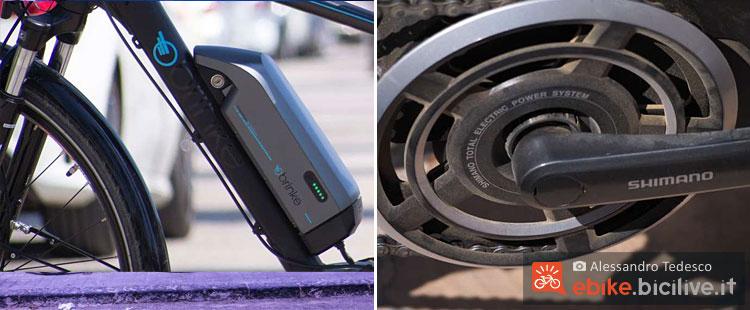 Steps è il sistema integrato Shimano per le biciclette elettriche