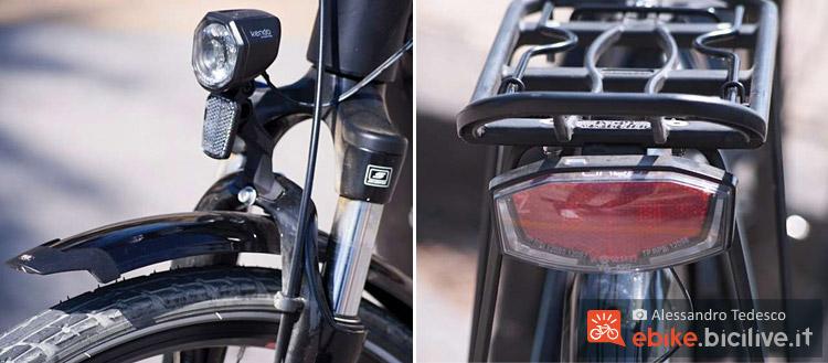 L'impianto luci dell'e-bike Brinke Rushmore 16