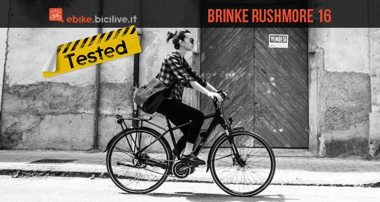 Test ebike Brinke Rushmore 16 con sistema Shimano STEPS