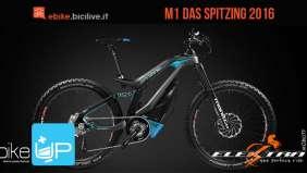 La pedelec full suspended Das Spitzing 2016 di M1 Sport Technik