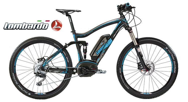 La mountain bike elettrica a pedalata assistita Lombardo E-Sempione 2.0