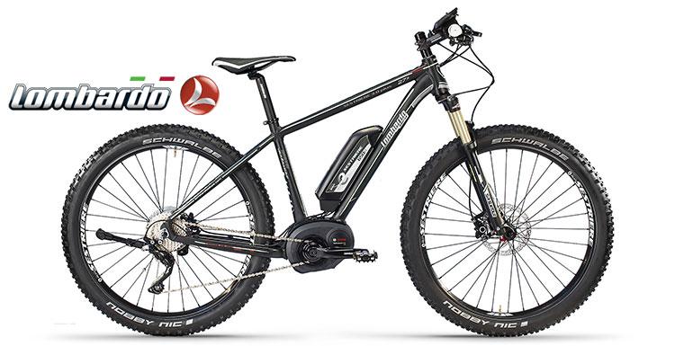 La mountain bike elettrica a pedalata assistita Lombardo E-Sestriere Plus
