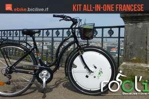 Rool'in, il kit di trasformazione ebike tutto in una ruota