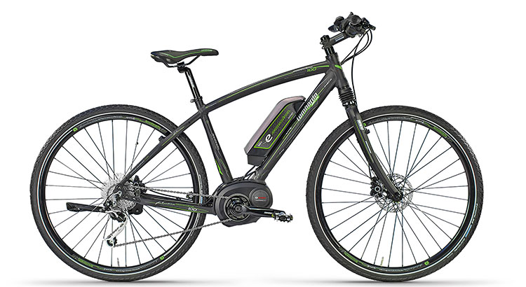 La bici a pedalata assistita E-Amantea Sport Performance di Lombardo