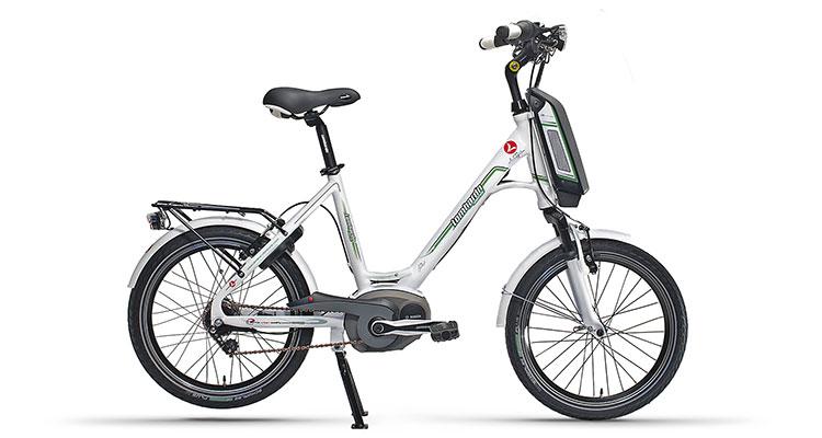 L'ebike a pedalata assistita E-Mia di Lombardo